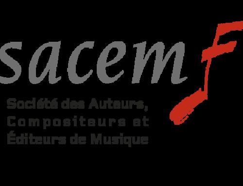 Info SACEM : Telethon 2019